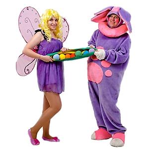 Лунтик и бабочка Элина (3)